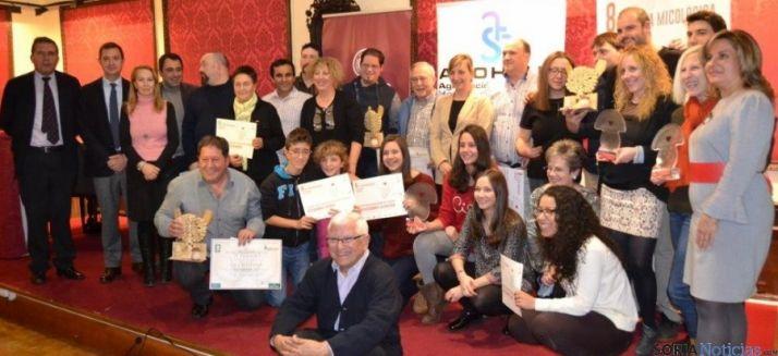 Galardonados con los premios de la Tapa Micológica