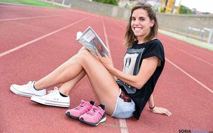La atleta soriana estará en Francia. / SN