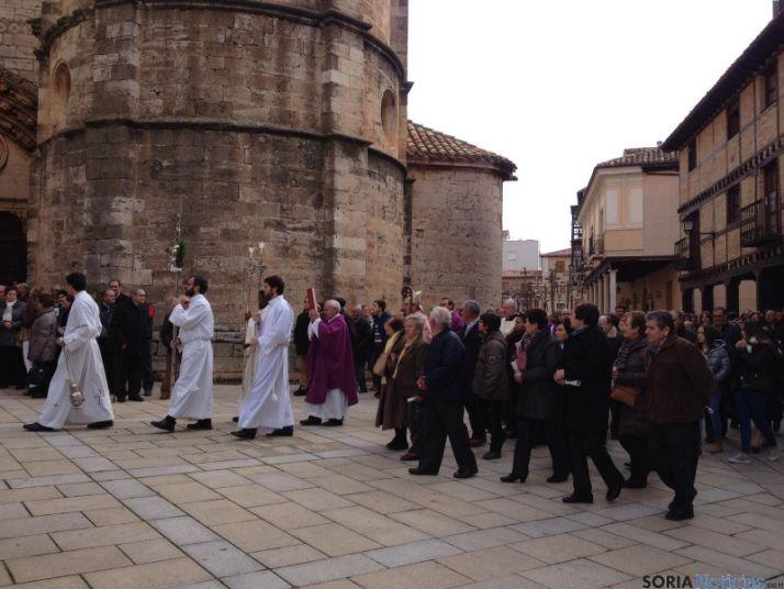 Foto 2 - Abierta la Puerta Santa en la Catedral de El Burgo de Osma
