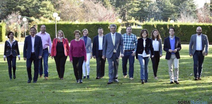Los candidatos y suplentes del PP para estas elecciones del 20-D.