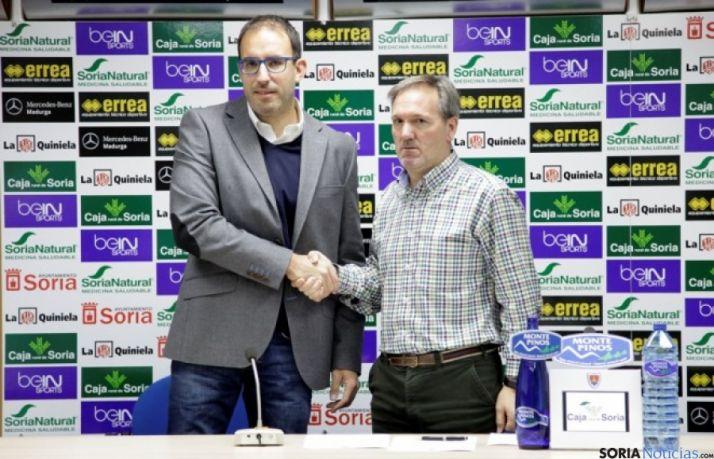 Rafael Peñuelas (izda.) y Eduardo Rubio./CDN