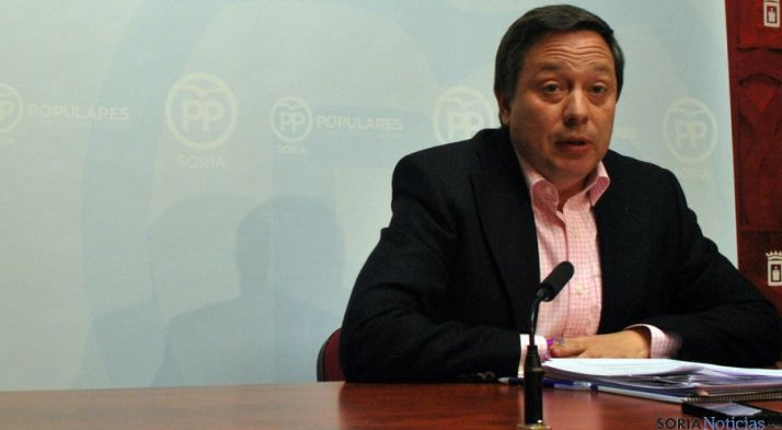 El concejal del PP, Adolfo Sainz./SN