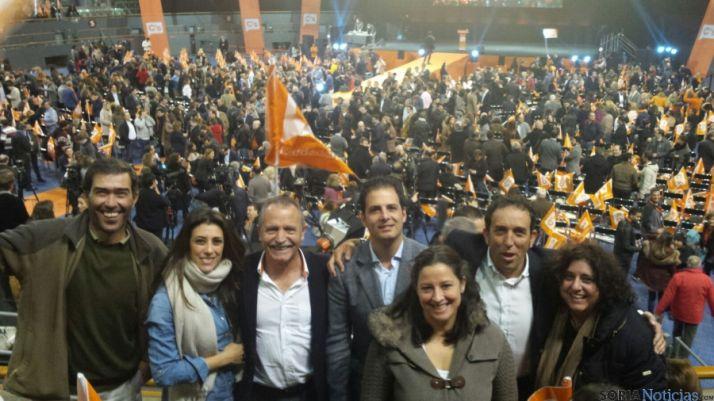 Foto 1 - Ciudadanos de Soria, con Albert Rivera en Madrid