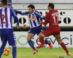 Foto 2 - El Alavés castiga otra vez las concesiones defensivas del Numancia (0-1)
