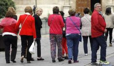 Excursión de pensionistas.