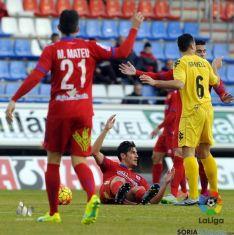 Foto 4 - Al Numancia le sobra el descuento frente al Girona (1-1)