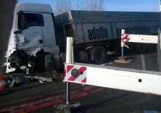 Imagen de la retirada del vehículo./SN