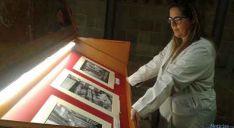 Imagen de una exposición en el Archivo Provincial de Soria. / SN
