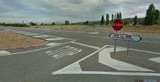 Imagen de la C-101 en Ólvega, carretera de titularidad regional./GM
