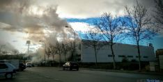 Imagen del incendio. / SN