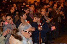Concentración de repulsa en San Leonardo