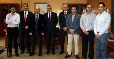 Visita de la delegación castellano-manchega.
