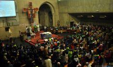 Una imagen del templo este domingo. / SN