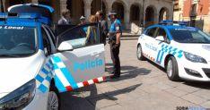 Vehículos de la Policía Local.