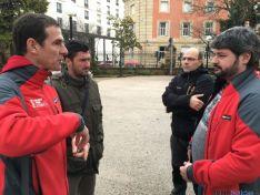 La Federación de Triatlón supervisa el circuito del Nacional de Soria