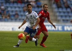 Una de las imágenes del partido en Tenerife.