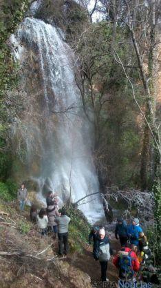 Espectacular imagen de la cascada