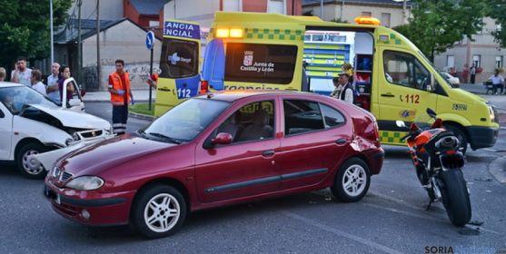 Los accidentes de tráfico provocan un buen número de atenciones.