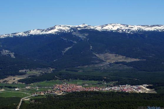 Panorámica de la sierra de Urbión.