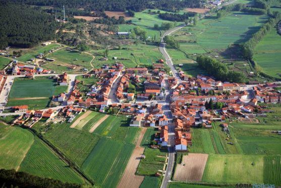 Vista aérea de Tardelcuende.