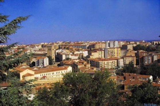 Panorámica de la ciudad de Soria.