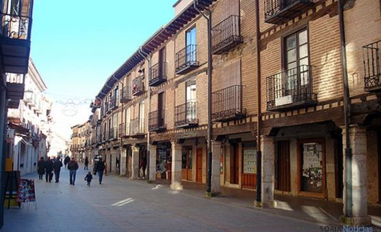 La calle Mayor de la villa. / SN