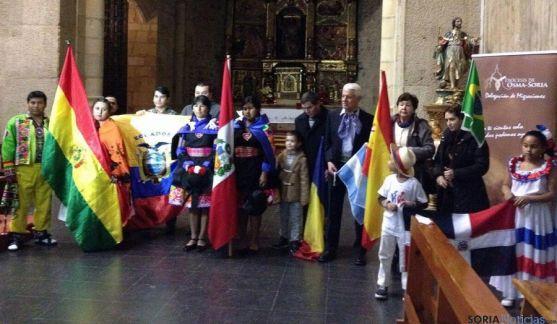 Imagen de la celebración eucarística en El Salvador. / DOS