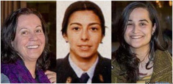 Montserrat González (izda.), Raquel Gago y Triana Martínez. / EPCYL