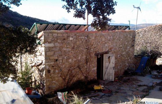 La vivienda donde se ha producido el fallecimiento. / BO