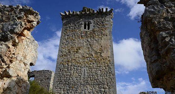 La torre del homenaje en la fortificación medieval. / SN