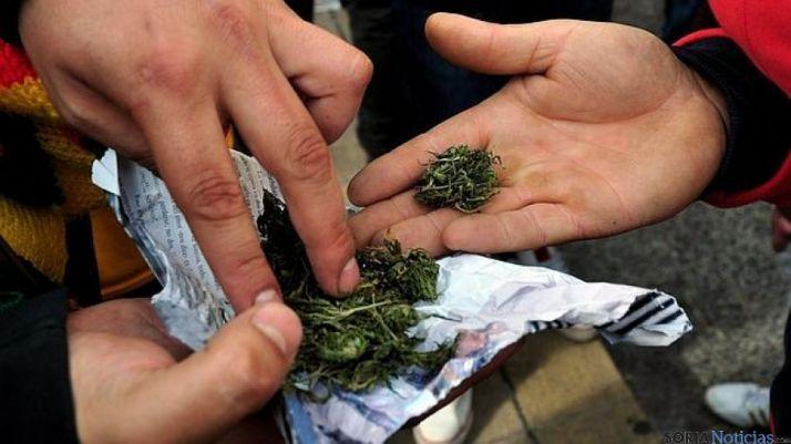 Los jóvenes consumen principalmente cannabis.