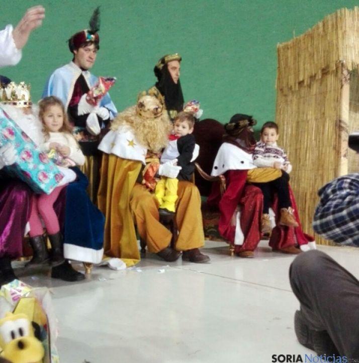 La Noche de Reyes en Ólvega./SN