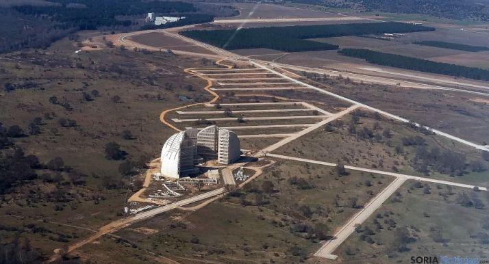 Vista aérea de la antigua CMA. / SN