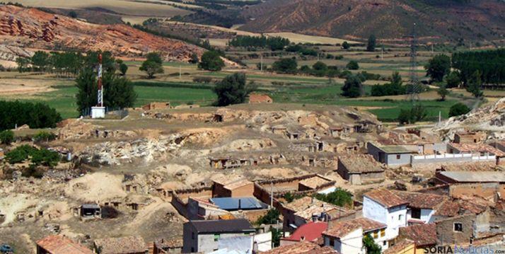 Vista parcial de Cihuela, uno de los municipios con gestora.