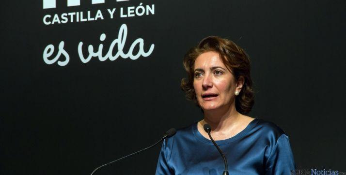 La consejera de Cultura y Turismo, María Josefa García-Cirac. / Jta.