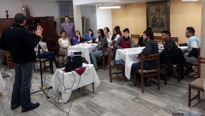 Participantes en el curso Alpha./DOS