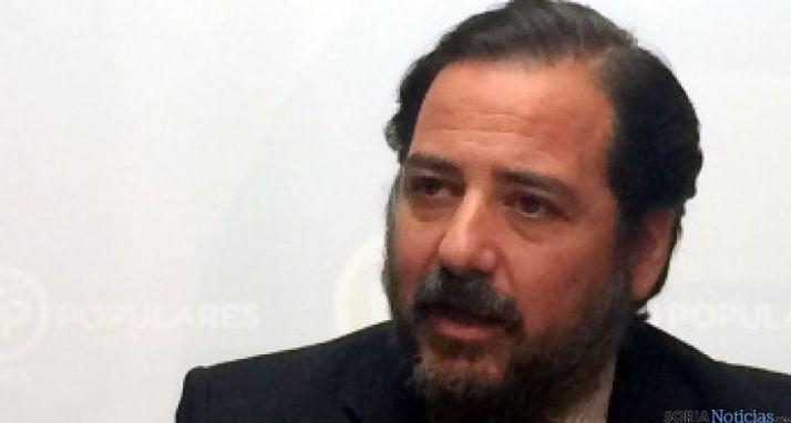 El concejal del PP, José Manuel Hernando. / SN