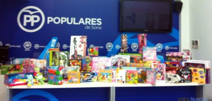 Los juguetes recogidos por NN GG.