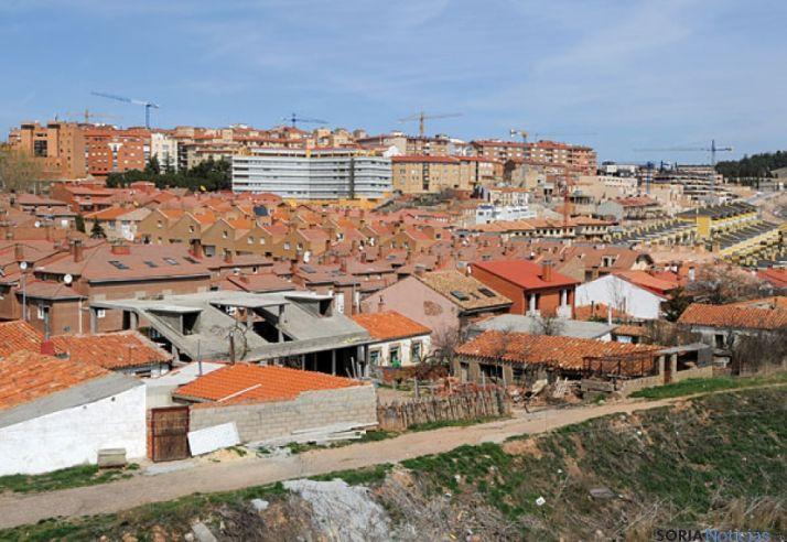 Imagen de archivo de una zona de la capital. / SN
