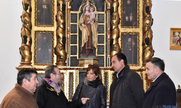 Pascual (izda.), De la Casa, Quintana, López y Utrilla. / Jta.