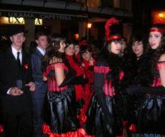 Participantes en el carnaval burgense.