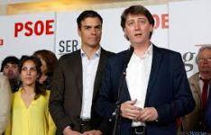 Carlos Martínez, en la visita de Pedro Sánchez a Soria.