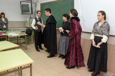 Foto 2 - El instituto Machado teatraliza la orden que lo creó hace ahora 175 años