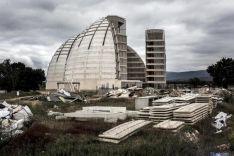 Las cúpulas de la energía, sin concluir.