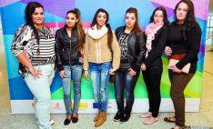 Estudiantes de etnia gitana.