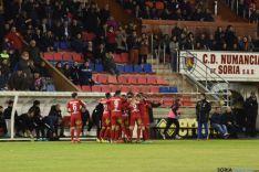 Foto 4 - El Numancia gana, con dos goles de Julio Álvarez, al Mallorca