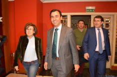 Angulo, Fernández Maíllo y Fernández Mañueco./SN