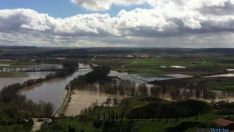 Desbordamiento del río Duero.