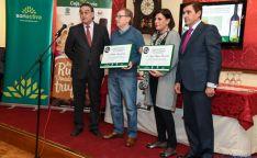 Anselmo García (izda), Millán Maroto, María Luisa Verde y Carlos Martínez Izquierdo. / SN