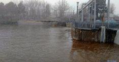 Imagen del pantano este domingo./SN
